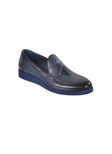 Luciano Bellini Ayakkabı Lacivert